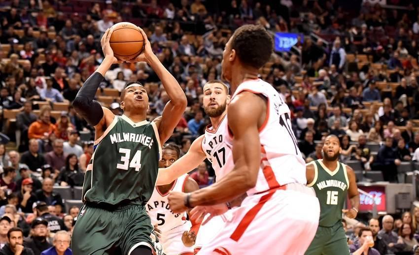 NBA: Milwaukee Bucks at Toronto Raptors